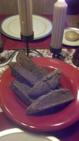 Michael Jordal's black bread and lemoncake