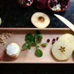 healthy apple salad with chevre and pine nuts | Inn at the Crossroads