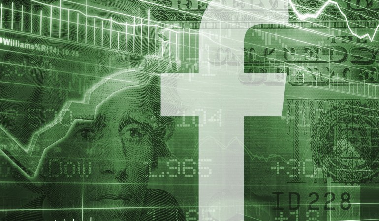 Facebook заработал за квартал $4 млрд, 80% на мобильной рекламе