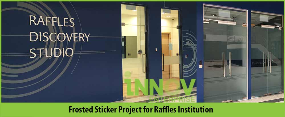 Frosted Sticker Singapore Install Print Glass Door Stickers