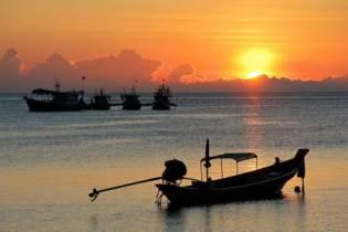 island snorkelling in Thailand - Koh Tao