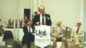 Art Linkletter, Commissioner General of the US Pavilion at World Expo 88 (Brisbane, Australia)