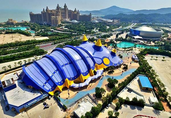 Chimelong International Circus City, Chimelong Zhuahi Resort. Courtesy Chimelong Group.