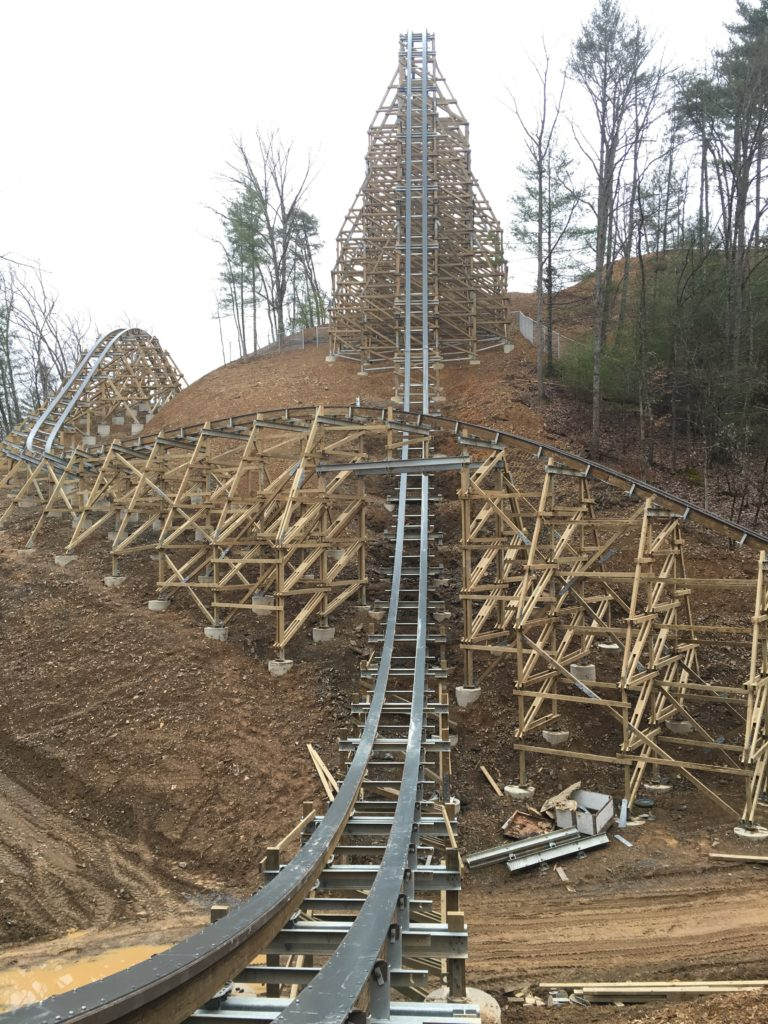 RMC Lightning Rod, Dollywood
