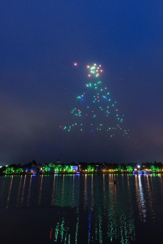 Walt Disney World - Holiday Drone Show