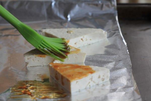 Glazed Sesame Tofu and Avocado Salad with Miso Dressing ...