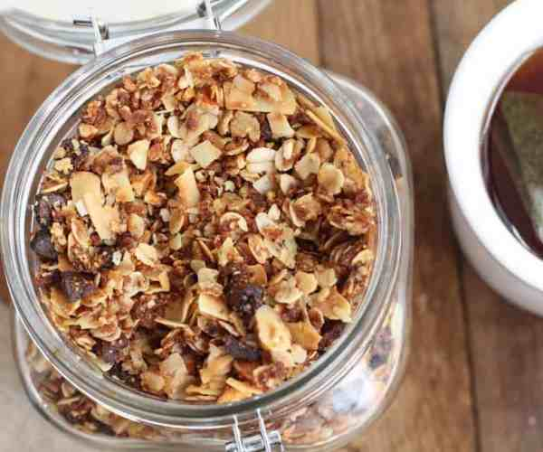 Chai Spice Granola with Almonds and Coconut 5