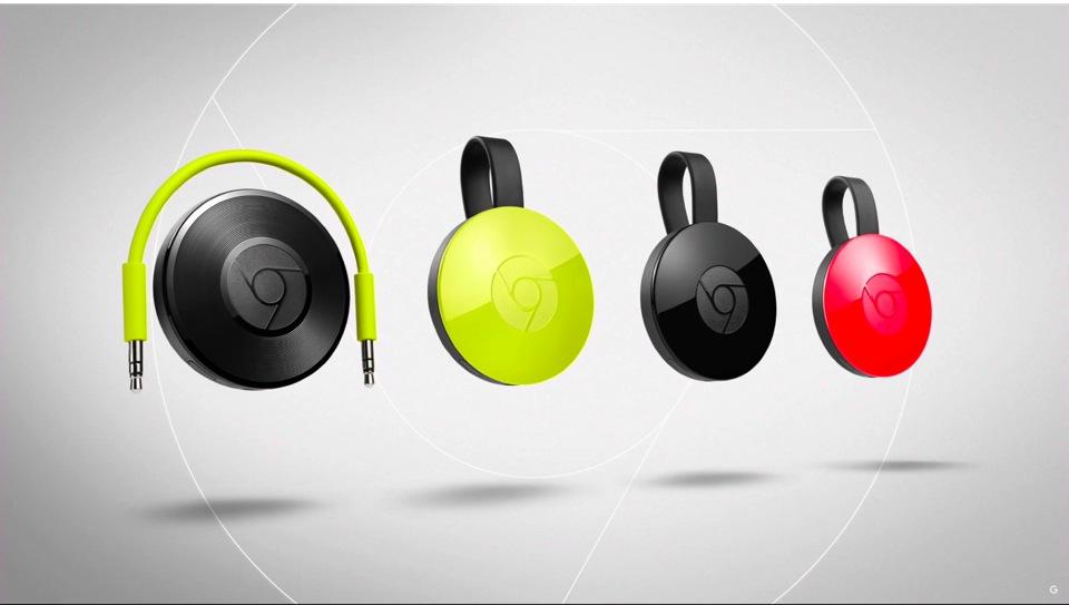 為生活細節增趣:Chromecast 2.0 & Chromecast Audio 可愛現身