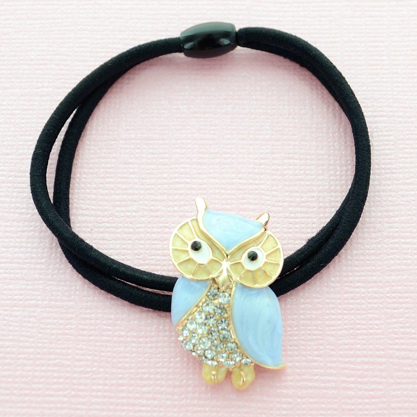 Owl Ponytail Holder