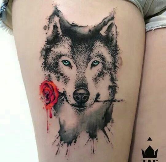 15 Best Husky Tattoo Designs - Inside Dogs World