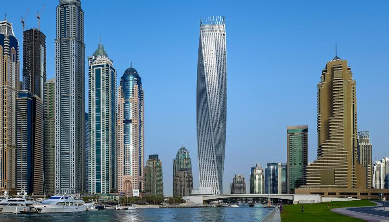 10 stunning examples of dubai architecture cayan tower