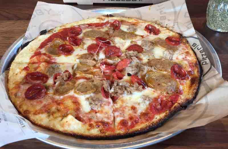 Review Of Pieology Pizzeria 33308 Restaurant 1823 E Commercia