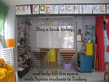 Help Syrian refugees get an education - buy my book; I'll donate AUD$1 to Small Projects Istanbul