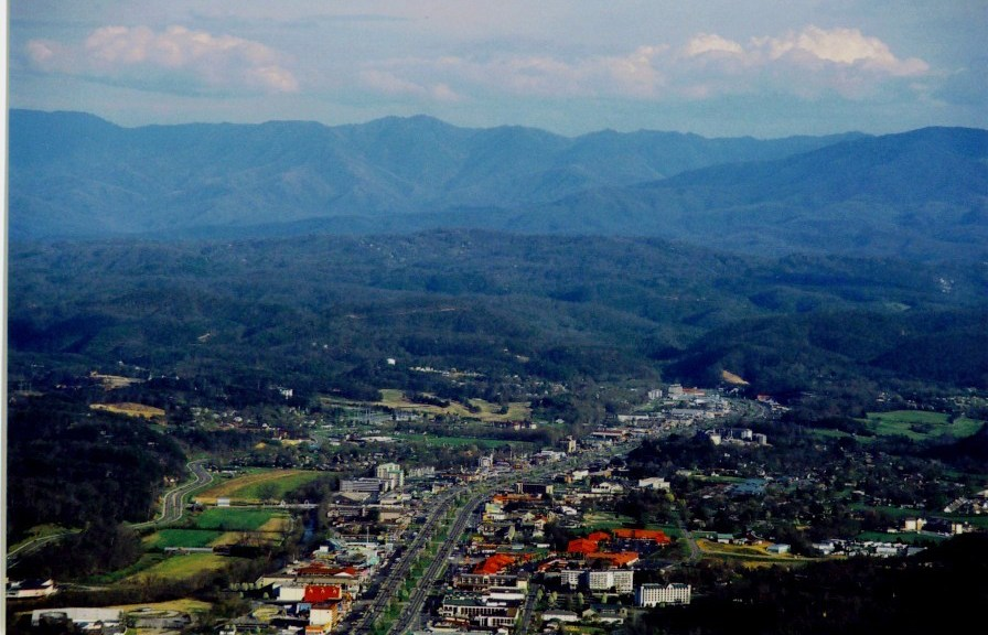 Overview of Pigeon Forge TN