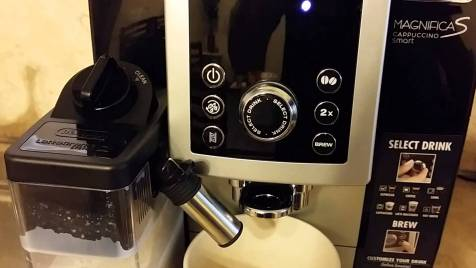 Coffee fully automatic test