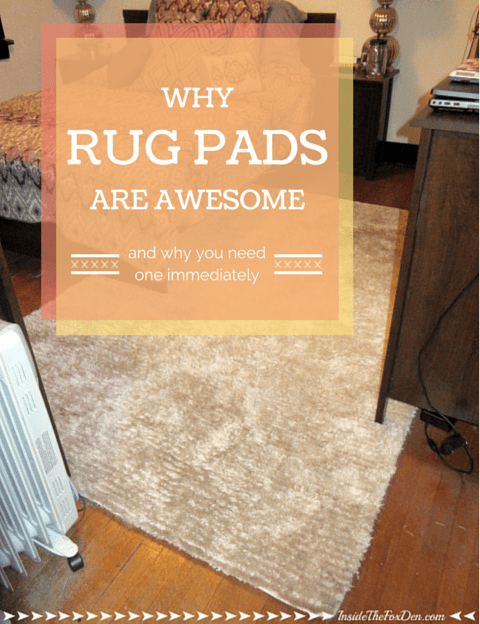Why Rug Pads Are Awesome | Inside the Fox Den