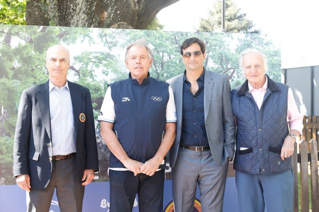 IOC member and Buenos Aires 2018 President Gerardo Werthein was among the attendees at the polo showcase ©Buenos Aires 2018