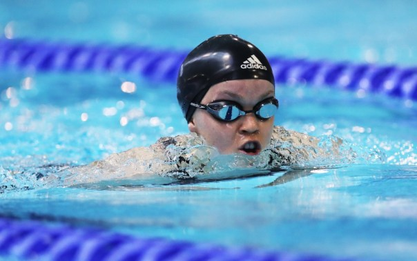 British swimmer Ellie Simmonds came third with 12 per cent of the vote
