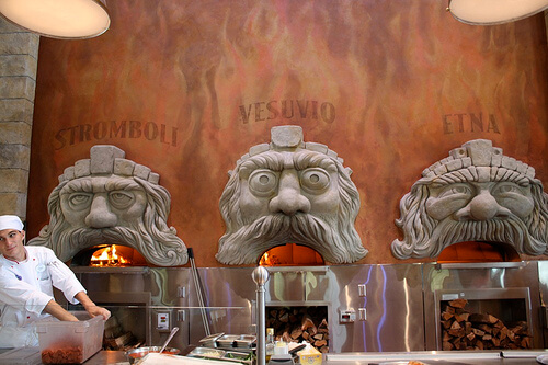 Via Napoli wood-fired ovens