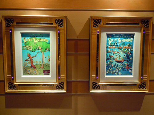Disney Dream enchanted art - Silly Symphonies posters