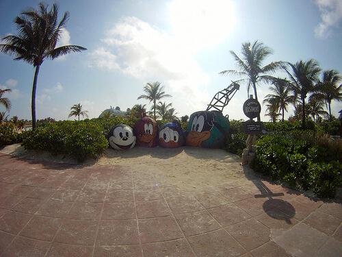Character Buoys - Castaway Cay