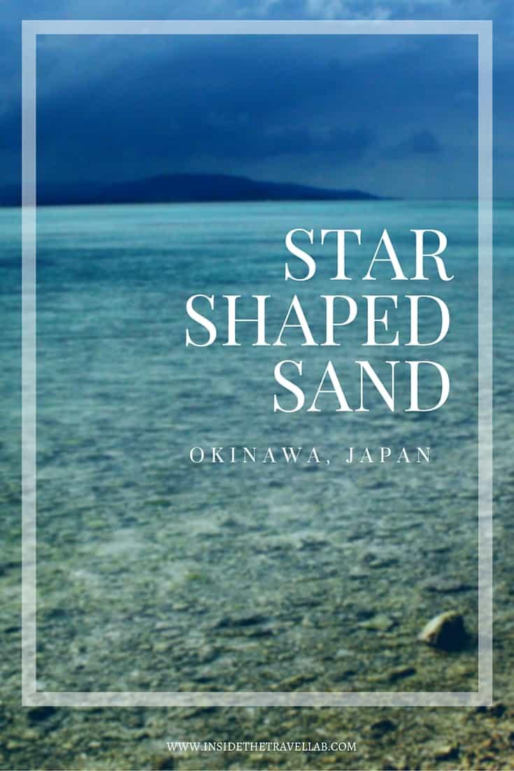 Star shaped sand in Okinawa Japan via @insidetravellab