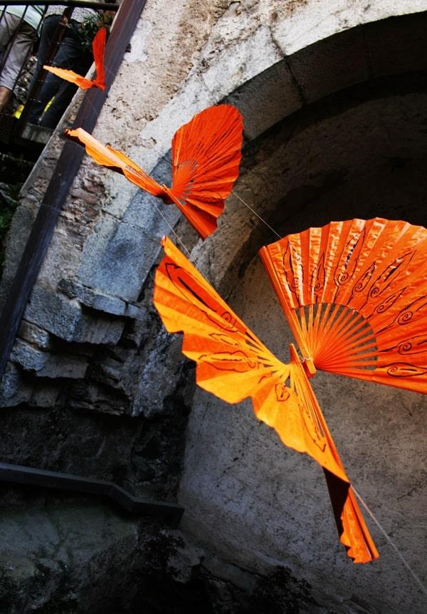Flower festival butterflies