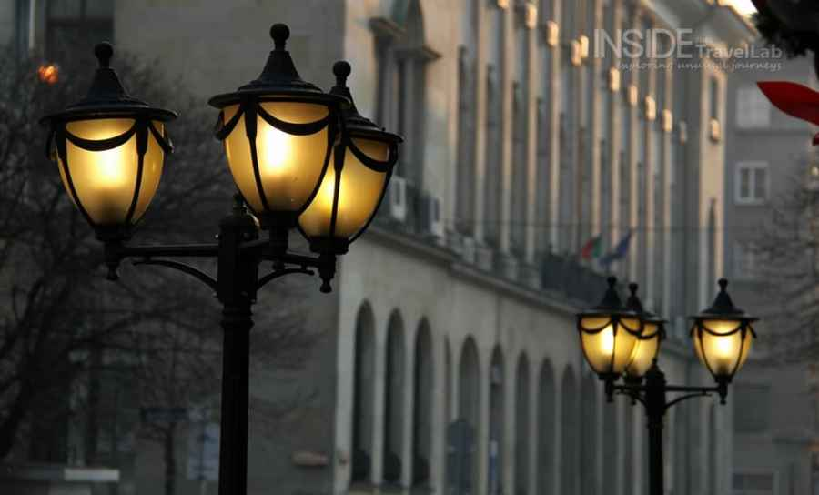 Photos of Sofia - Street lights