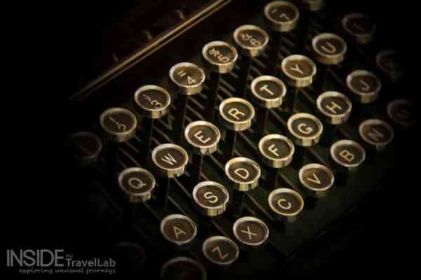 Ironroute - the past - typewriter