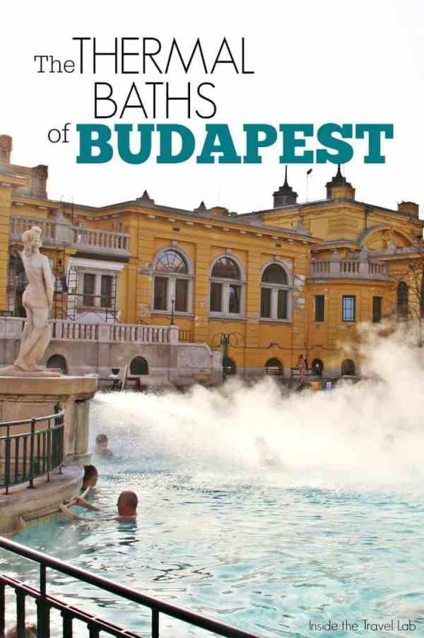 Thermal baths of Budapest via @insidetravellab