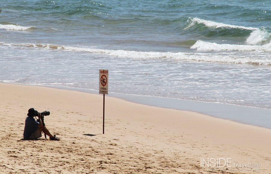 Beach on Aus Open of Surf