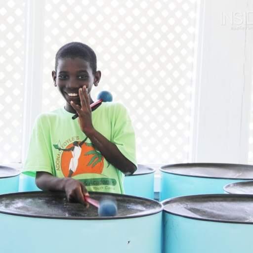 Boy in Grenadines Band