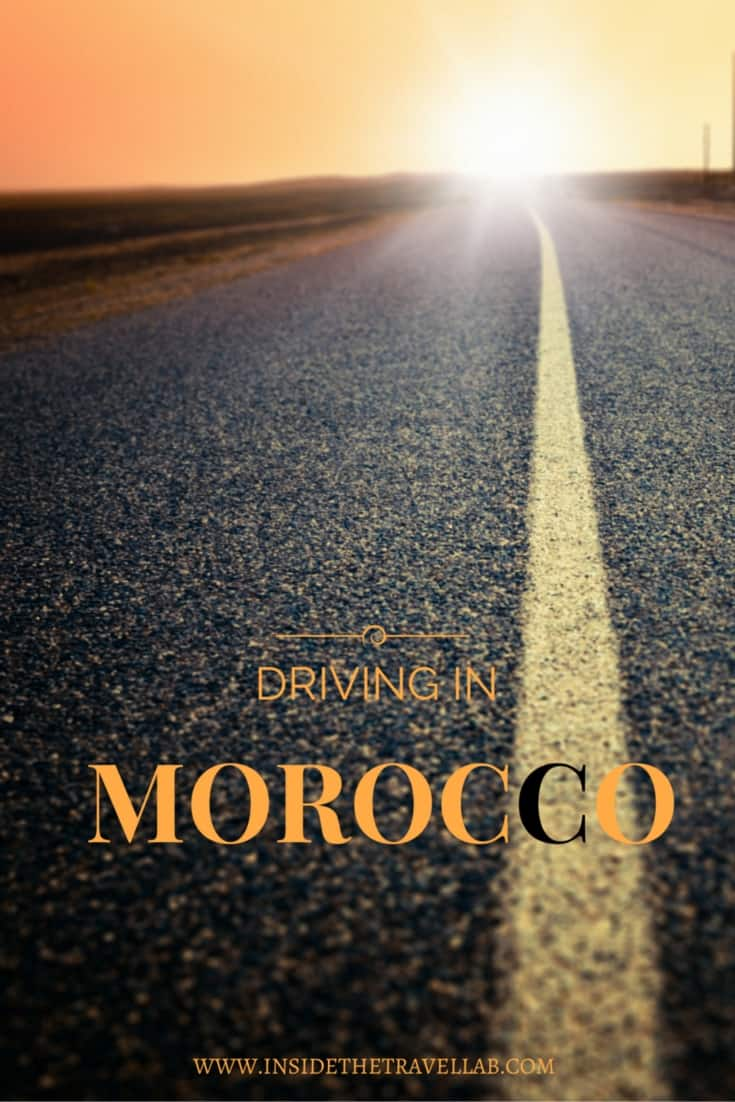 Driving in Morocco via @insidetravellab