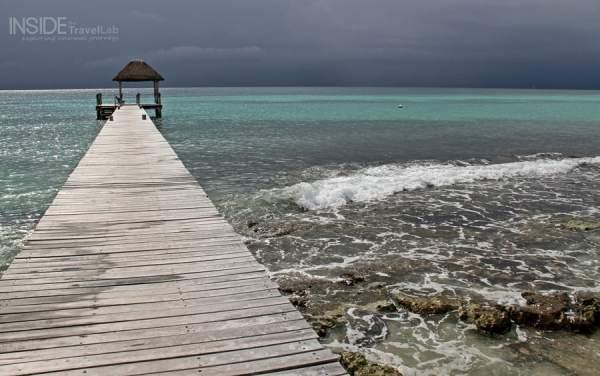 Viceroy Riviera Maya watery walkway