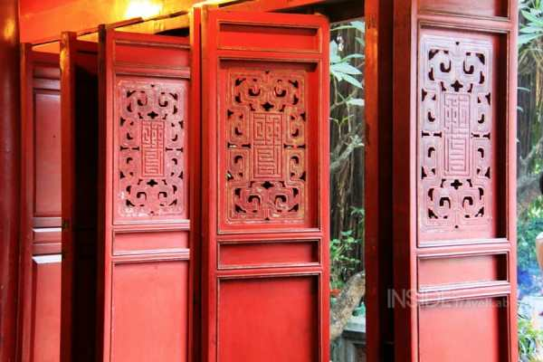 Sacred sites on Hoan Kiem Lake Hanoi