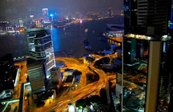Hong Kong Skyline from the Upper House