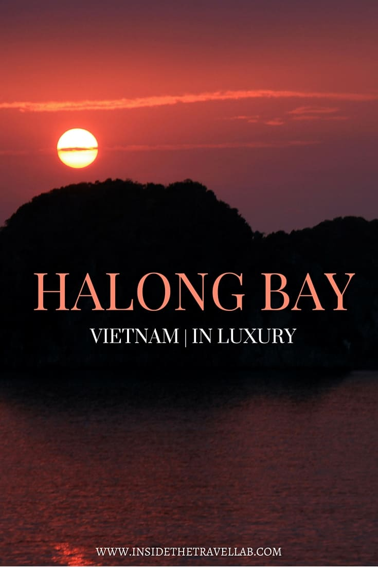 Luxury cruise to Halong Bay with culture via @insidetraellab