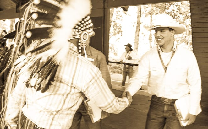 Exhibitions at the Calgary Stampede Indian Village