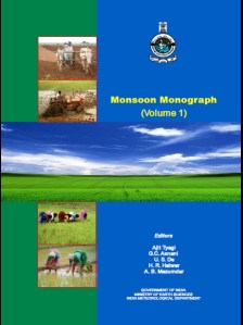 Monograph on Monsoon Volume -I