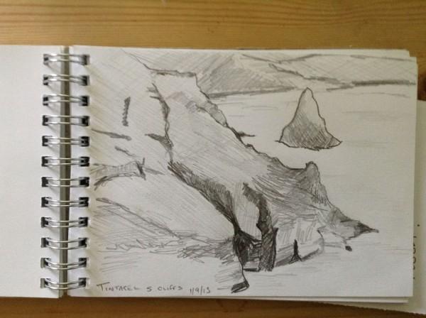 Tintagel sketch