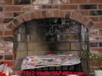Chimney-Caused Stains on Building Interior Surfaces
