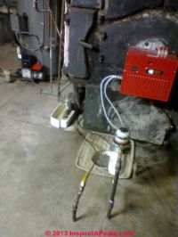 Heating Oil Piping Leaks in the oil burner supply or ...