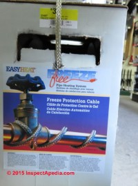 How & Where to add heat to protect against pipe freezing ...