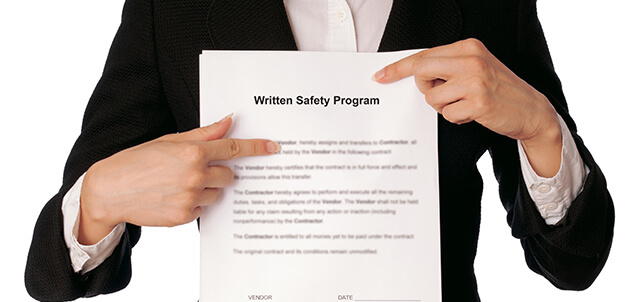 Is a Written Safety Program Required? - Insperity