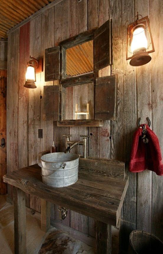Décorer la salle de bain style campagne! 10 idées magnifiques