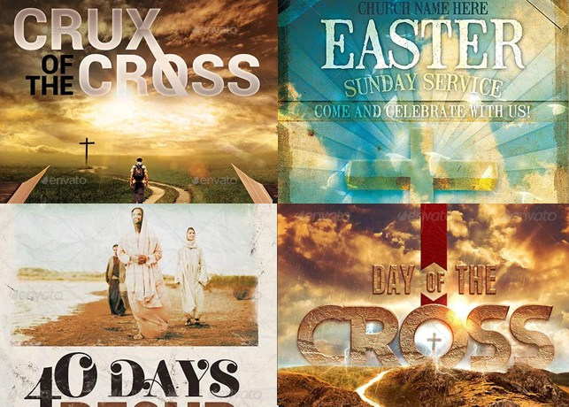 34 Easter Flyer Templates for Churches Inspiks Market - easter flyer template