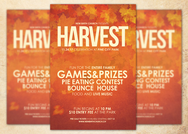 church fall festival flyer templates - Onwebioinnovate - fall festival flyer ideas