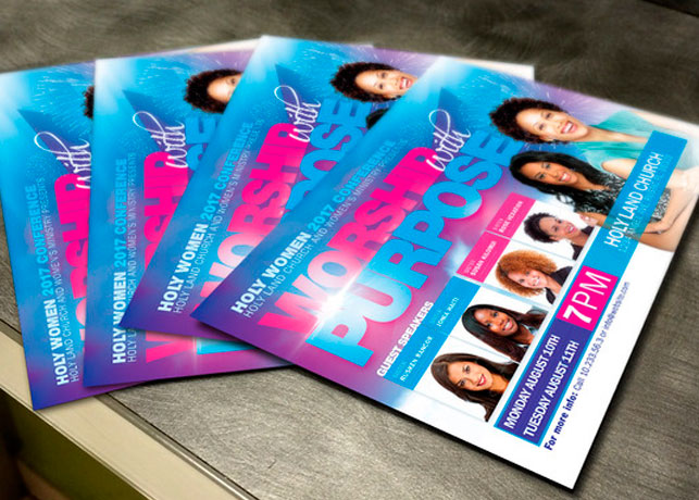 Women Conference Flyer Template Inspiks Market