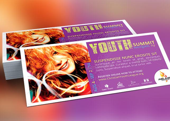 Mini Youth Summit Flyer Template Inspiks Market