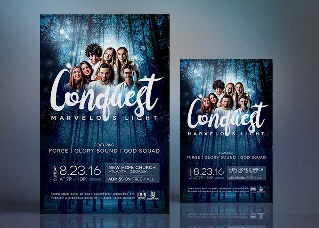 Church Concert Flyer Poster Template Inspiks Market